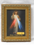 Divine Mercy 5x7 Guilded Gold Framed Print