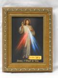 Divine Mercy 5x7 Guilded Gold Framed Print