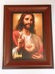 Sacred Heart Blessing 8x12 Framed Print