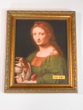 St. Mary Magdalene 8x10 Gold Framed Print