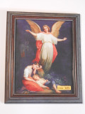 Guardian Angel 8x10 Dark Framed Print