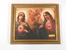 Sacred and Immaculate Hearts 10x12 Framed Print