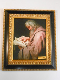 St. Matthew 8x10 Black and Gold Framed Print
