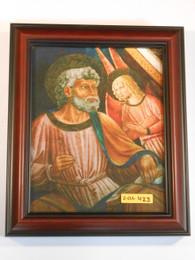 St. Matthew with Angel 8x10 Framed Print