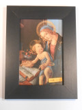 Madonna and Child by Botticelli 6x9 Framed Print