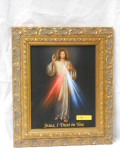 Divine Mercy 8x10 Gold-Curl Framed Print