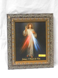 Divine Mercy 8x10 Ornate-Dark Framed Print