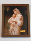 L'Innocence 8x10 Brown-Framed Print