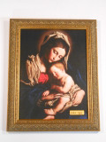 Madonna and Child 9x12 Framed Print