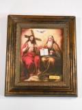 Holy Trinity 8x10 Grand Dark Framed Print
