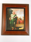 St. Matthias 8x10 Simple-Brown Framed Print