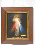 Divine Mercy 8x10 Wood Framed Print