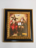 Holy Trinity 8x10 Gold & Black Framed Print