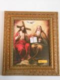 Holy Trinity 8x10 Embellished Gold Framed Print