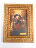 Mary Undoer of Knots 5x8 Large Gold Framed Print