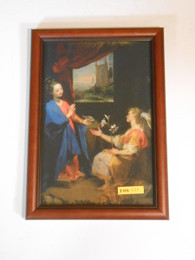 Annunciation by Barocci 8x11 Framed Print