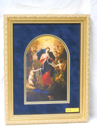 Mary Undoer of Knots 9x12 Framed Matted Print