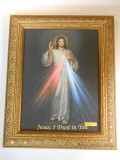 Divine Mercy 11x15 Framed Canvas