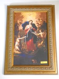 Mary Undoer of Knots 9x15 Ornate Framed Print