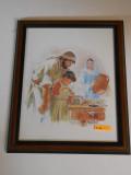 Holy Family Carpentry 10x13 Framed Print