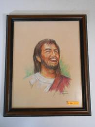 Happy Jesus 10x13 Framed Print