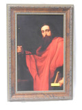 De Saint Paul by Ribera 9x15 Ornate Framed Print