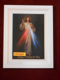 Divine Mercy 5x7 White-Framed Print