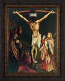 Crucifixion by Grunewald - Ornate Framed Art