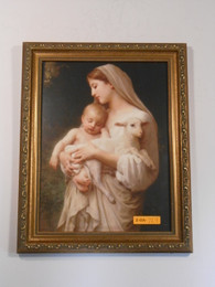 L'Innocence 9x11 Framed Print