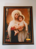 Madonna of the Roses 11x15 Framed Print