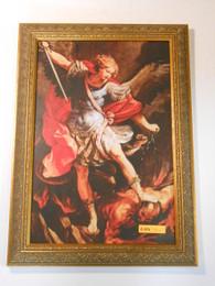 St. Michael the Archangel 9x14 Framed Print