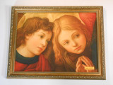 Two Angels by Lippi 12x16 Framed Print