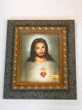 Traditional Sacred Heart 8x10 Dark-Framed Print