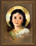The Christ Child - Gold Framed Art
