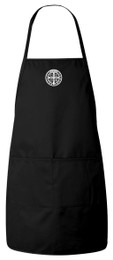 Benedictine Medal Apron (Black)