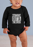 Straight Outta the Oven Long-Sleeve Baby Onesie