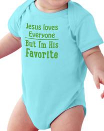 Jesus Loves Everyone Baby Onesie