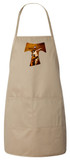 St. Francis Tau Cross Apron (Natural)
