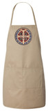 Benedictine Medal Apron (Natural)