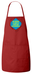 An Apron is a Cape Apron (Red)