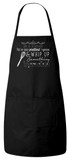 Life is a Kitchen Apron (Black)