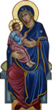 Our Lady of Good Health Lifesize Standee