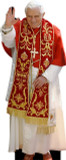 Benedict XVI in Red Lifesize Standee