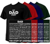 """My Dad Shirt"": The Stuff of Legends T-Shirt"
