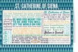 Saint Catherine of Siena Quote Card