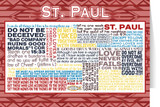 Saint Paul Quote Card