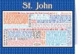 Saint John Quote Card