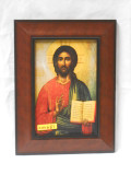 Icon of Christ 5x8 Framed Print