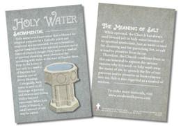 Holy Water Faith Explained Card
