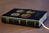 Personalized Catholic Bible with RCIA Cover - Black Bonded Leather RSVCE